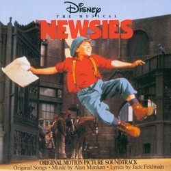 Newsies Colonna sonora (Various Artists, Jack Feldman, Alan Menken) - Copertina del CD