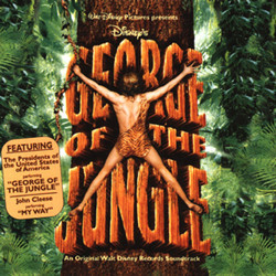 George of the Jungle Colonna sonora (Various Artists, Marc Shaiman) - Copertina del CD