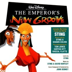 The Emperor's New Groove Soundtrack (Various Artists, John Debney) - Carátula
