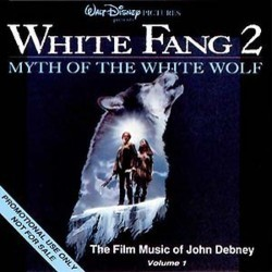 White Fang 2: Myth of the White Wolf Soundtrack (John Debney) - CD cover