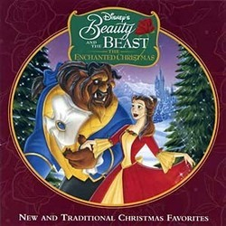 Beauty and the Beast: The Enchanted Christmas サウンドトラック (Rachel Portman) - CDカバー