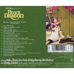 Pete's Dragon Soundtrack (Various Artists) - CD Back cover
