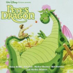 Pete's Dragon Soundtrack (Various Artists) - CD cover