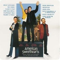 America's Sweethearts Soundtrack (Various Artists, James Newton Howard) - CD cover