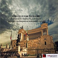 The Belly of an architect: Struggle for pleasure Soundtrack (Pierluigi Colangelo) - CD cover