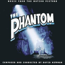 The Phantom Soundtrack (David Newman) - CD cover