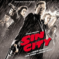 Sin City Soundtrack (John Debney, Graeme Revell, Robert Rodriguez) - CD cover