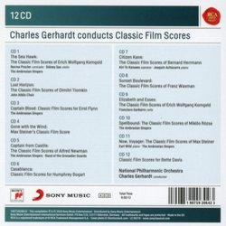 Charles Gerhardt conducts Classic Film Scores Soundtrack (Various Artists) - CD Trasero