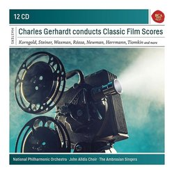 Charles Gerhardt conducts Classic Film Scores Soundtrack (Various Artists) - CD cover