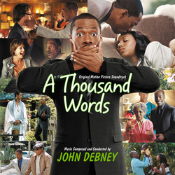 A Thousand Words Soundtrack (John Debney) - CD cover