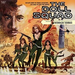 Doll Squad Soundtrack (Nicholas Carras) - CD cover
