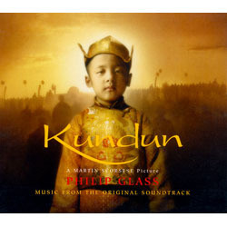 Kundun Soundtrack (Philip Glass) - CD cover