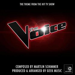 The Voice Theme Bande Originale (Martijn Schimmer) - Pochettes de CD