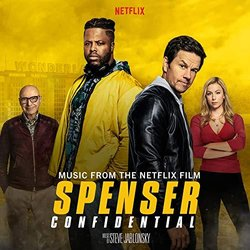 Spenser Confidential Soundtrack (Steve Jablonsky) - CD cover