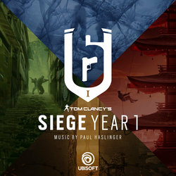 Rainbow Six Siege: Year 1 Soundtrack (Paul Haslinger) - CD cover