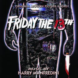Friday the 13th Soundtrack (Harry Manfredini) - CD cover