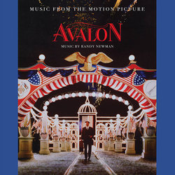 Avalon Soundtrack (Randy Newman) - CD cover