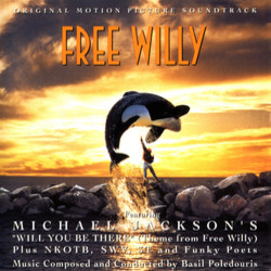 Free Willy Colonna sonora (Basil Poledouris) - Copertina del CD