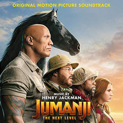Jumanji: The Next Level Soundtrack (Henry Jackman) - CD cover