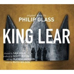 King Lear Soundtrack (Philip Glass) - CD cover