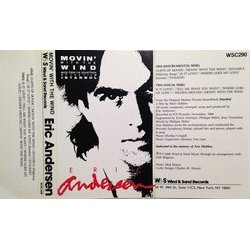 Istanbul Soundtrack (Eric Andersen) - CD Back cover