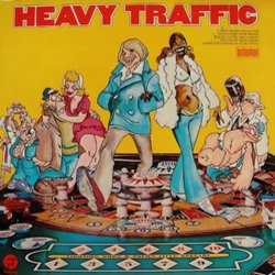Heavy Traffic Trilha sonora (Various Artists, Ed Bogas, Ray Shanklin) - capa de CD