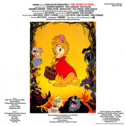 The  Secret of NIMH Soundtrack (Jerry Goldsmith) - CD Trasero