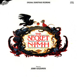 The  Secret of NIMH Ścieżka dźwiękowa (Jerry Goldsmith) - Okładka CD