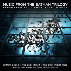 Music from the Batman Trilogy Soundtrack (James Newton Howard, Hans Zimmer) - CD cover