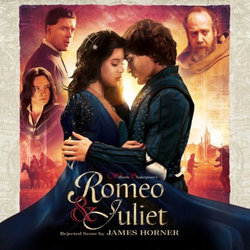 Romeo & Juliet Soundtrack (James Horner) - CD cover