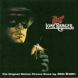 The Legend of the Lone Ranger / Game of Death Soundtrack (John Barry) - CD cover
