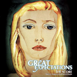 Great Expectations Soundtrack (Patrick Doyle) - CD cover