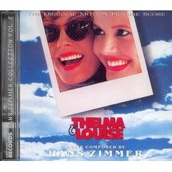 Thelma & Louise / Invincible Soundtrack  (Hans Zimmer) - CD cover