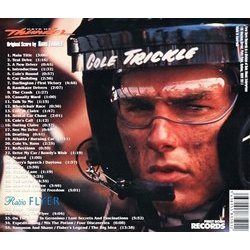 Days of Thunder / Radio Flyer Soundtrack (Hans Zimmer) - CD Back cover