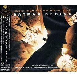 Batman Begins Soundtrack (James Newton Howard, Hans Zimmer) - Carátula