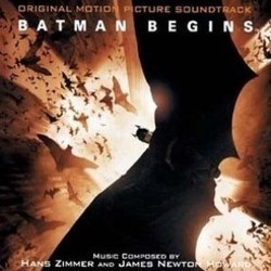 Batman Begins Soundtrack (James Newton Howard, Hans Zimmer) - CD cover