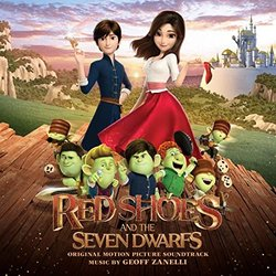 Red Shoes and the Seven Dwarfs Soundtrack (Geoff Zanelli) - CD cover