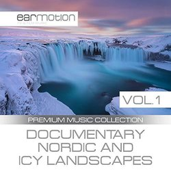 Documentary Nordic and Icy Landscapes, Vol. 1 Soundtrack (Various artists) - CD cover