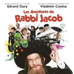 Les Aventures de Rabbi Jacob Soundtrack (Vladimir Cosma) - CD cover