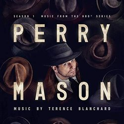 Perry Mason: Chapter 2 Soundtrack (Terence Blanchard) - CD cover