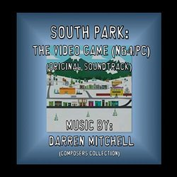 South Park: The Video Game Trilha sonora (Darren Mitchell) - capa de CD