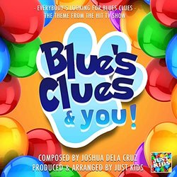Blue's Clues & You: Everybody's Looking For Blues Clues Soundtrack (Joshua Dela Cruz) - CD cover