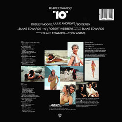 10 Soundtrack (Various Artists, Henry Mancini) - CD Back cover