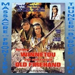 Winnetou und Sein Freund Old Firehand Soundtrack (Peter Thomas) - CD-Cover