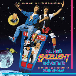 Bill & Ted's Excellent Adventure Soundtrack (David Newman) - CD cover