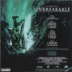 Eastrail 177 Trilogy / Unbreakable / Split / Glass 声带 (James Newton Howard, West Dylan Thordson) - CD后盖