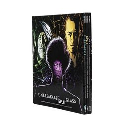 Eastrail 177 Trilogy / Unbreakable / Split / Glass 声带 (James Newton Howard, West Dylan Thordson) - CD-镶嵌