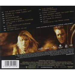 The Island Soundtrack (Steve Jablonsky) - CD Back cover