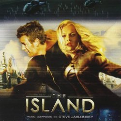 The Island Soundtrack (Steve Jablonsky) - CD cover