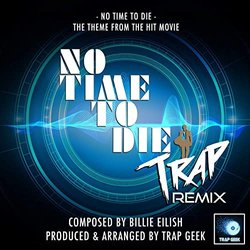 No Time To Die Main Theme Soundtrack (Billie Eilish) - CD cover